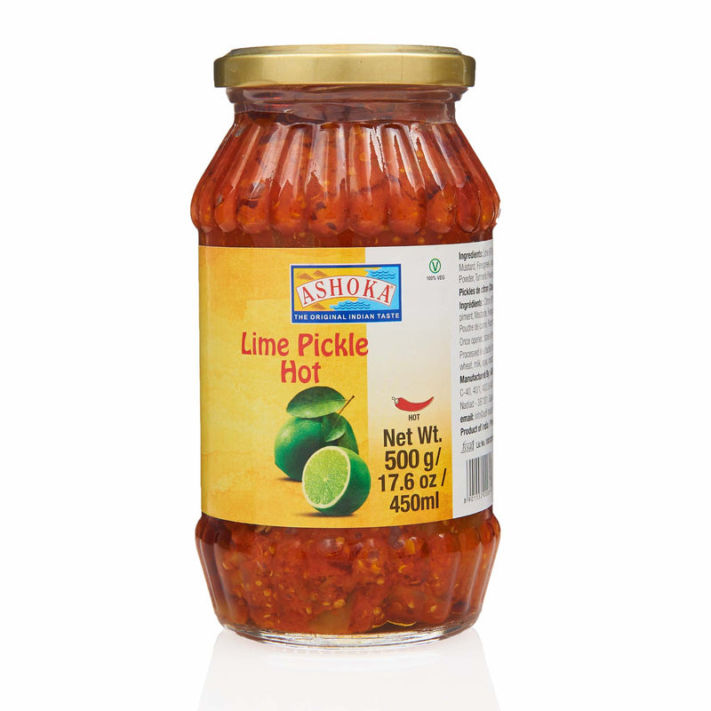 Ashoka Lime Pickle Hot - Front
