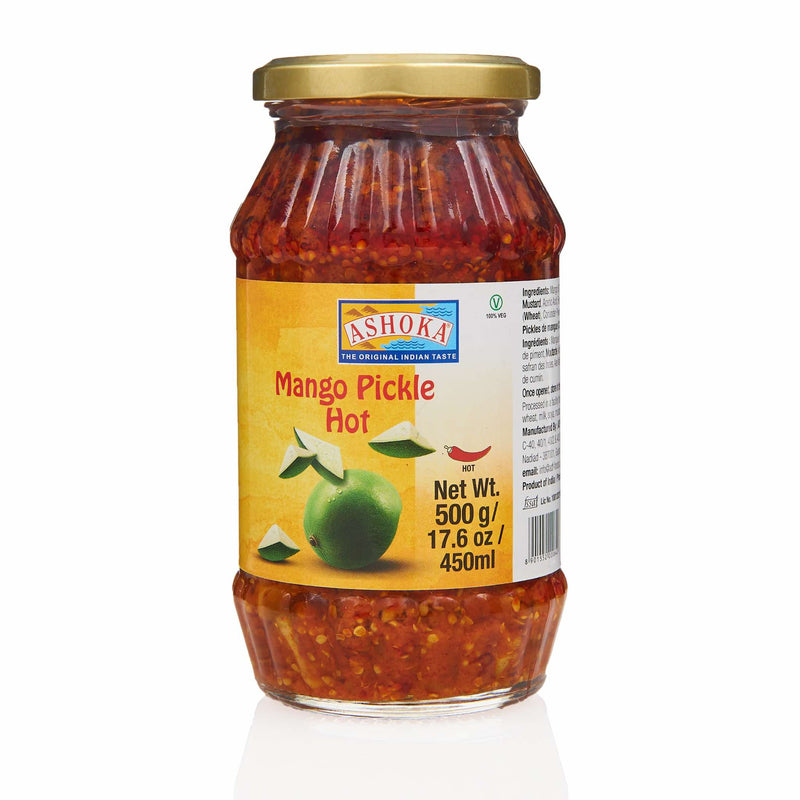 Ashoka Mango Hot Pickle - Front
