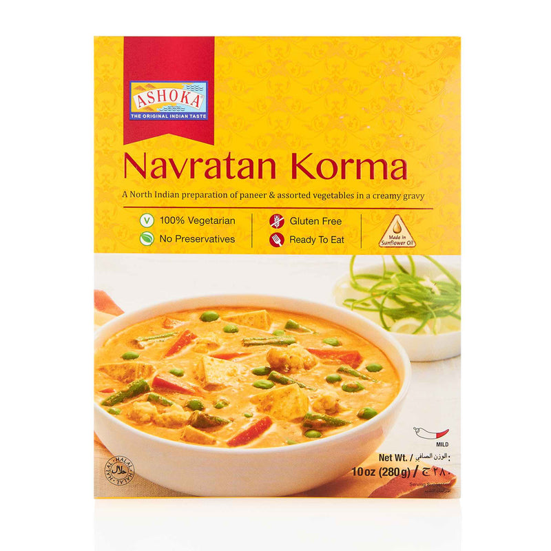 Ashoka Navratan Korma Ready to Eat Meal - Front