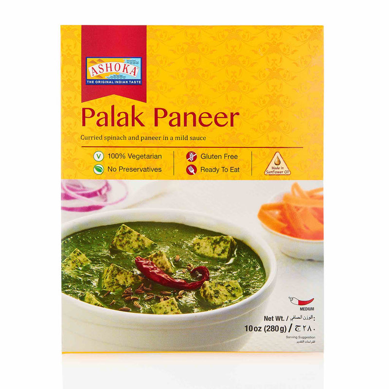 Ashoka Palak Paneer Ready to Eat Meal - Front