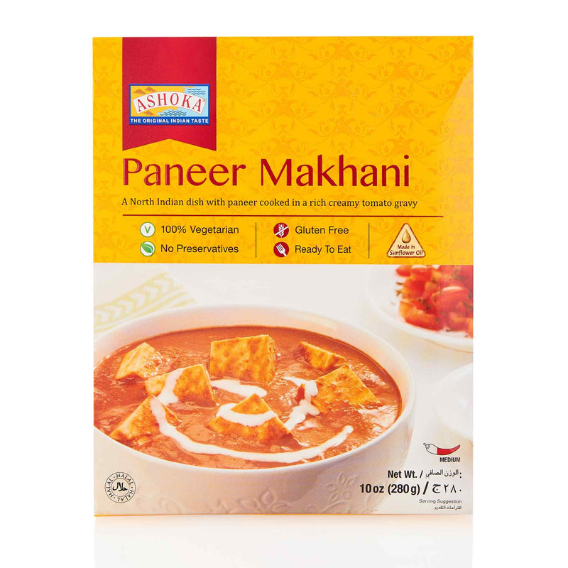 Ashoka Paneer Makhani Ready to Eat Meal - Front
