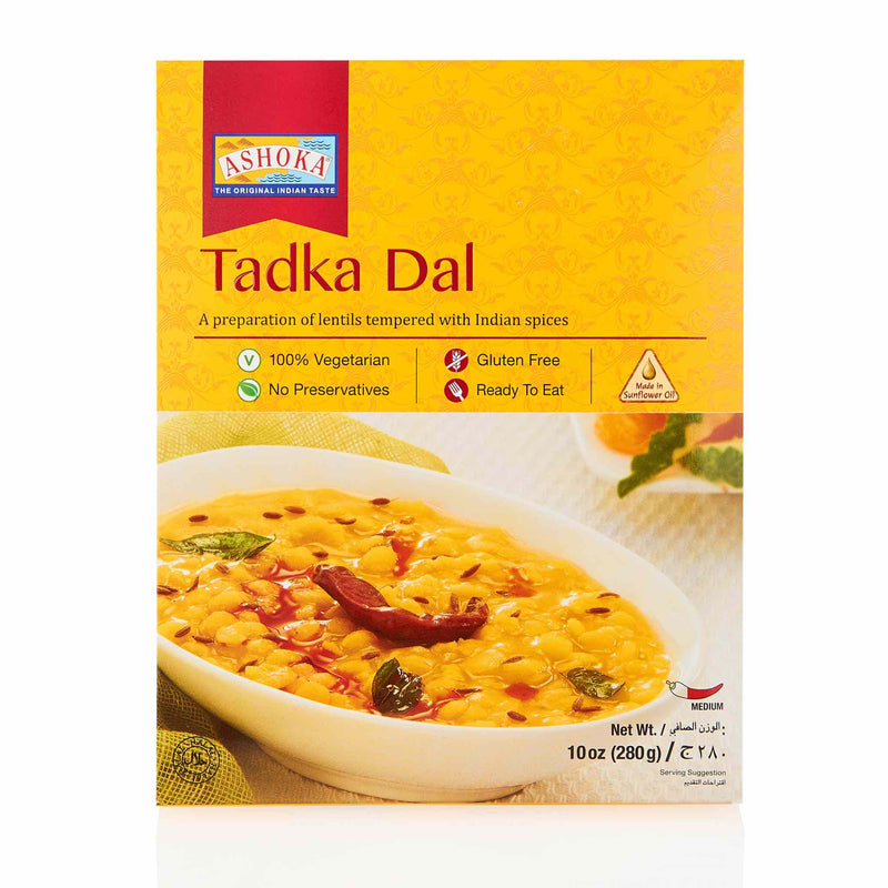 Ashoka Tadka Dal Ready to Eat Meal - Front
