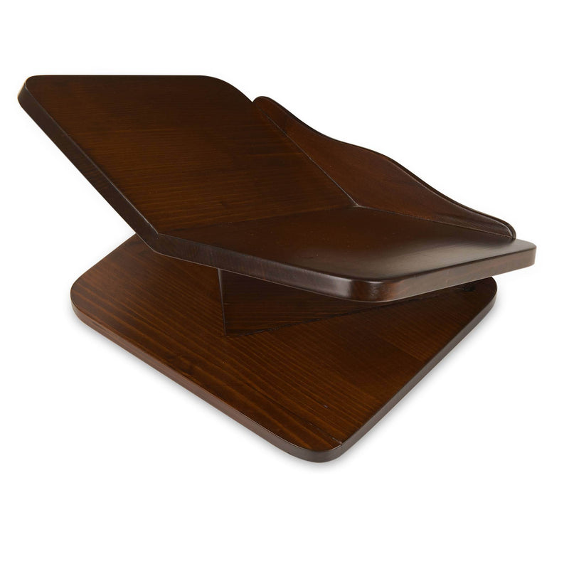 Book Reader Rehal in Walnut - Back