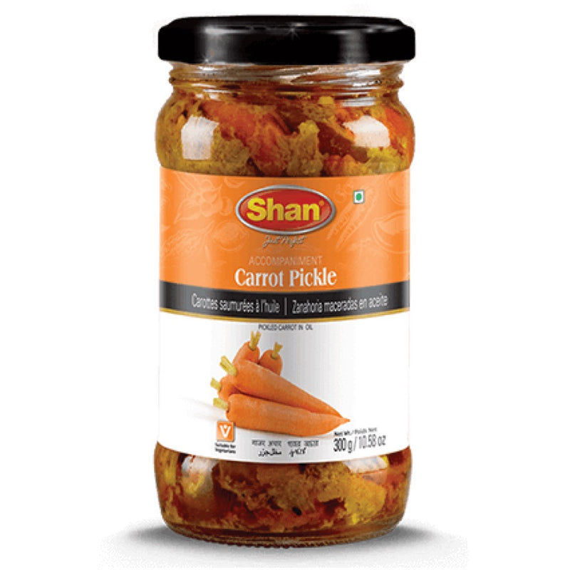 Shan Carrot Pickle - Front