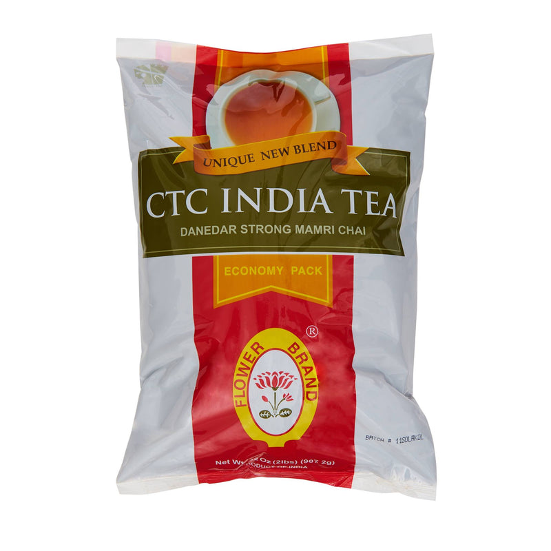 Flower CTC India Tea - Front