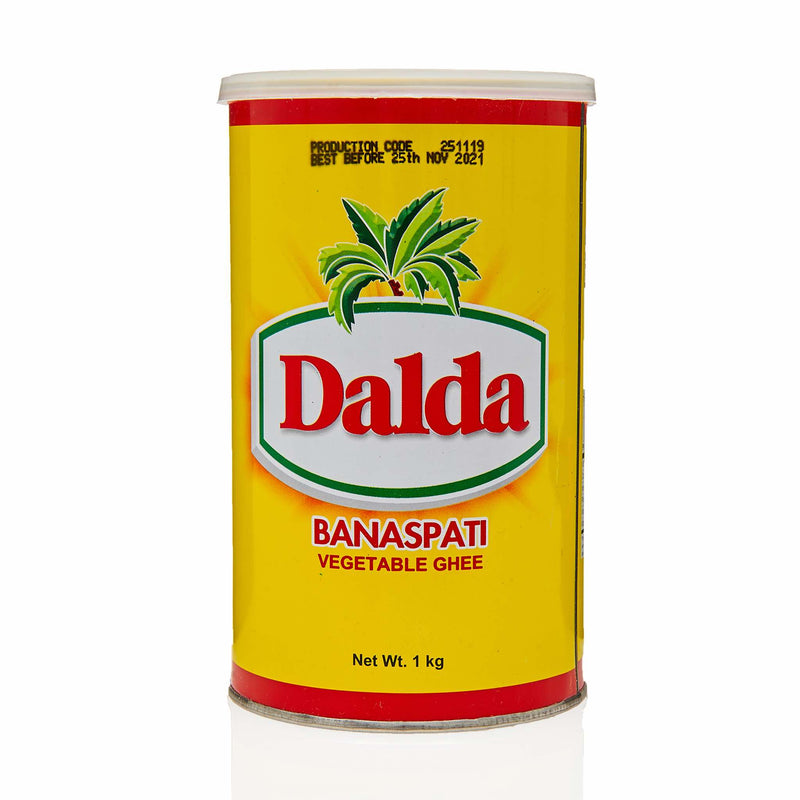 Dalda Banaspati Vegetable Ghee - Front
