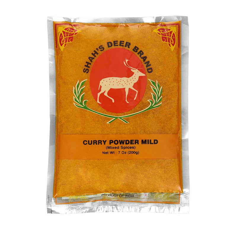 Deer Curry Powder Mild - Front