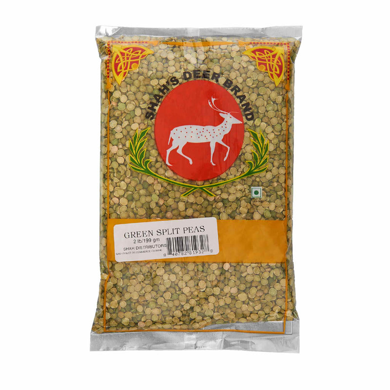 Deer Green Split Pea - Front