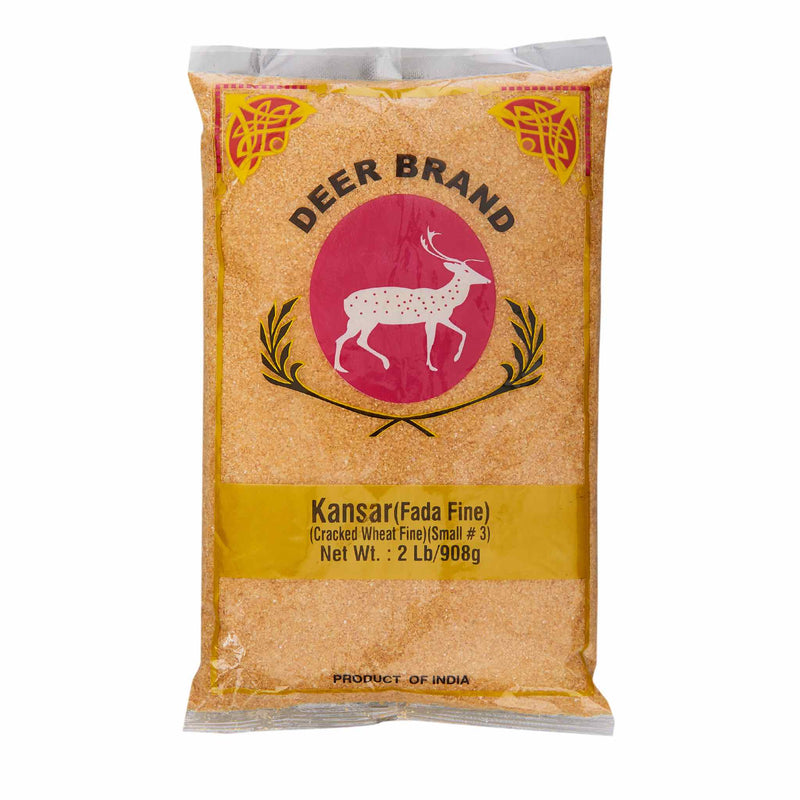 Deer Fada Fine Kansar Cracked Wheat - Front