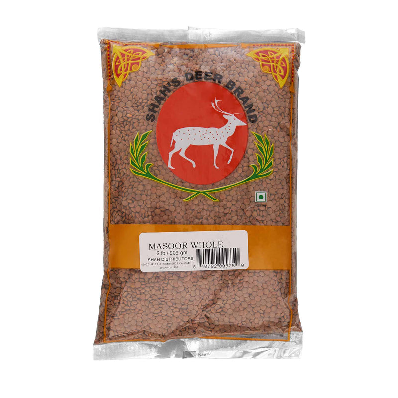 Deer Red Lentil Masoor Whole - Front
