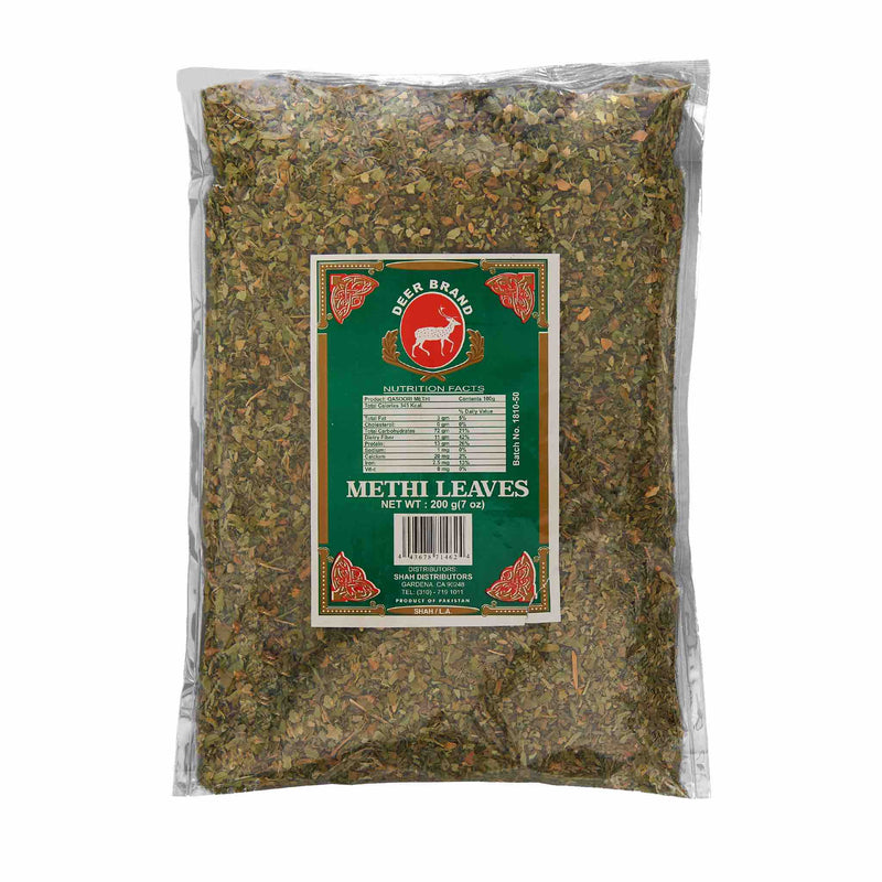 Deer Fenugreek Leaves - Front
