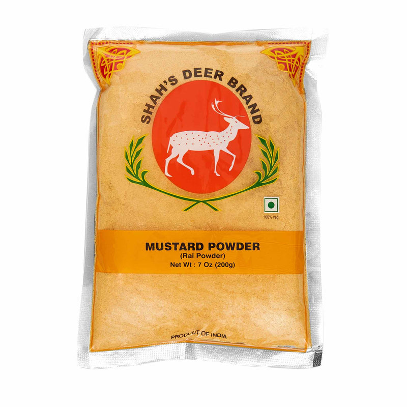 Deer Mustard Seeds Powder - Front