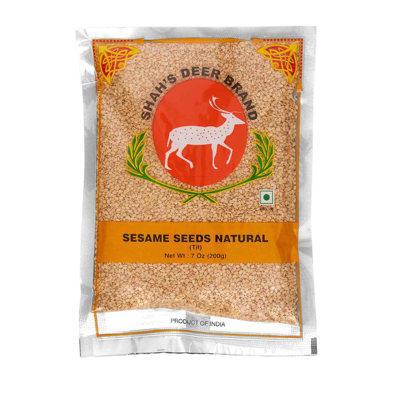 Deer Sesasme Seeds Natural Til - Front