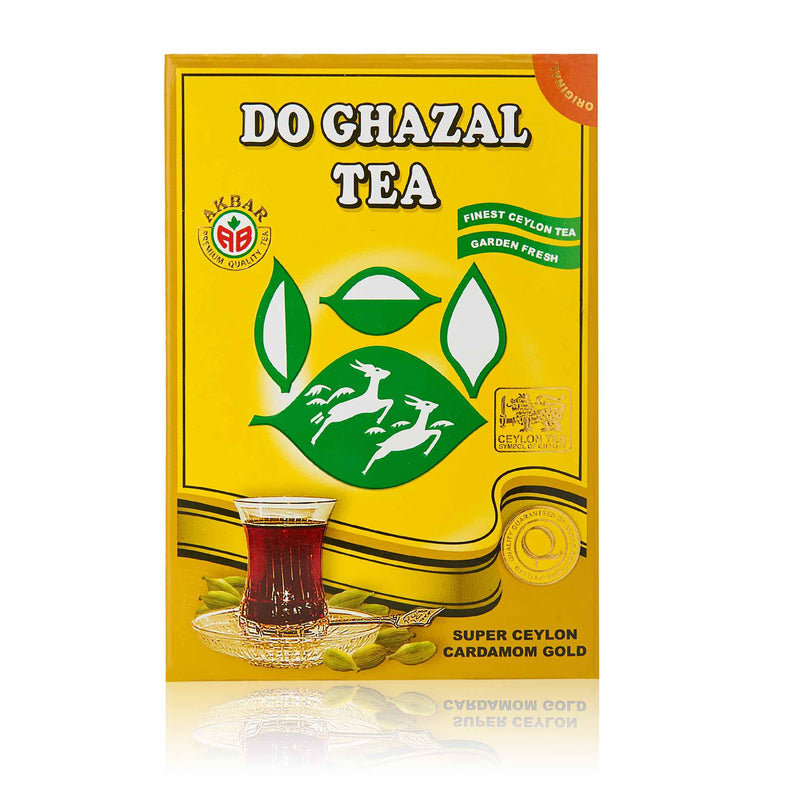 Do Ghazal Cardamom Black Tea - Front