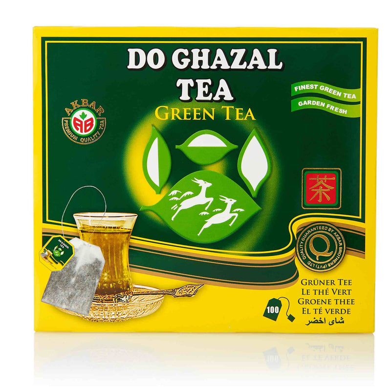 Do Ghazal Green Tea Bags - Front