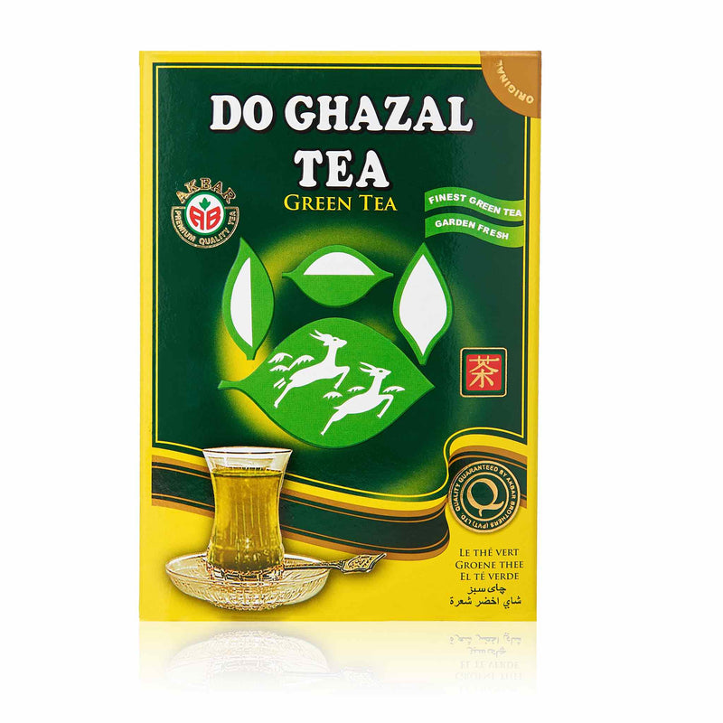 Do Ghazal Green Loose Tea - Front