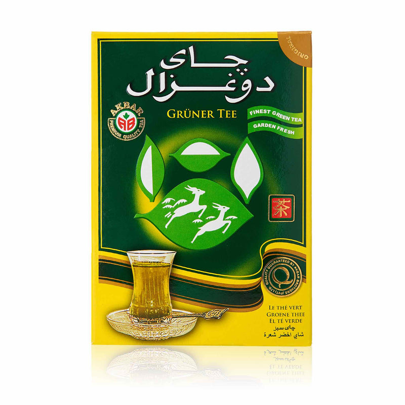Do Ghazal Green Loose Tea - Back