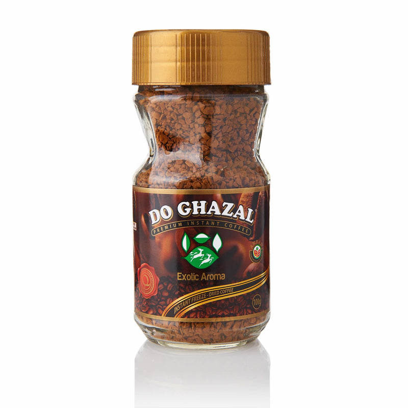 Do Ghazal Instant Coffee - Front