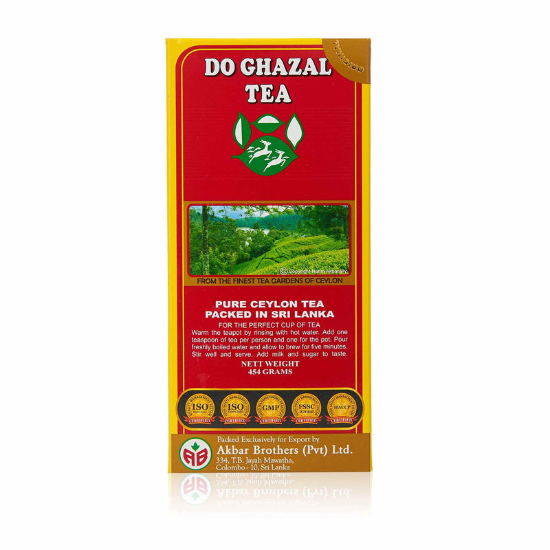 Do Ghazal Pure Ceylon Black Loose Tea - Ingredients