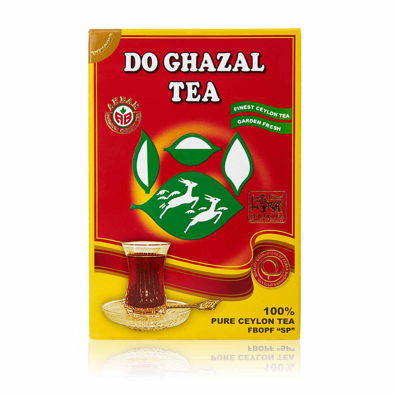 Do Ghazal Pure Ceylon Black Loose Tea - Front