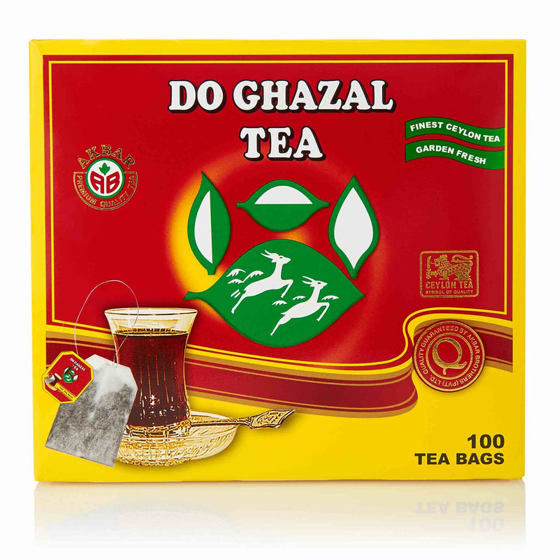 Do Ghazal Pure Ceylon Black Tea Bags - Front