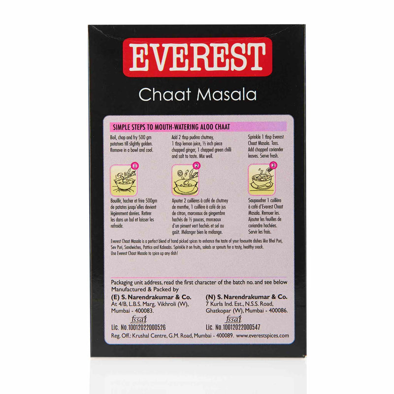 Everest Chaat Masala - Directions