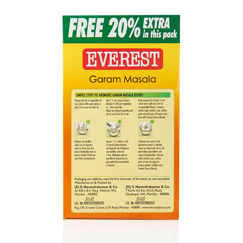 Everest Garam Masala - Directions