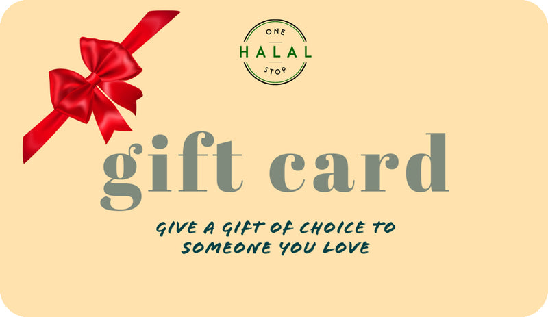 One Stop Halal Gift Card