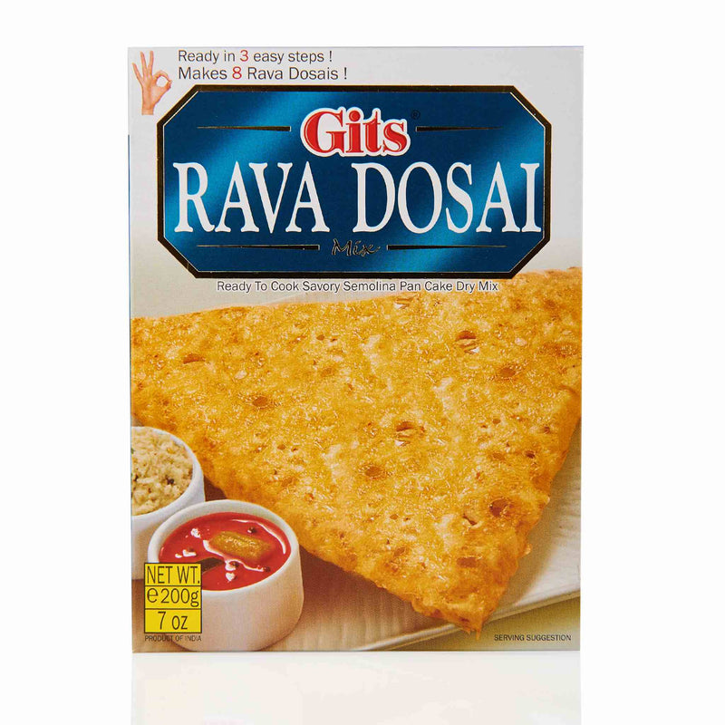 Gits Rava Dosa Recipe Mix - Front