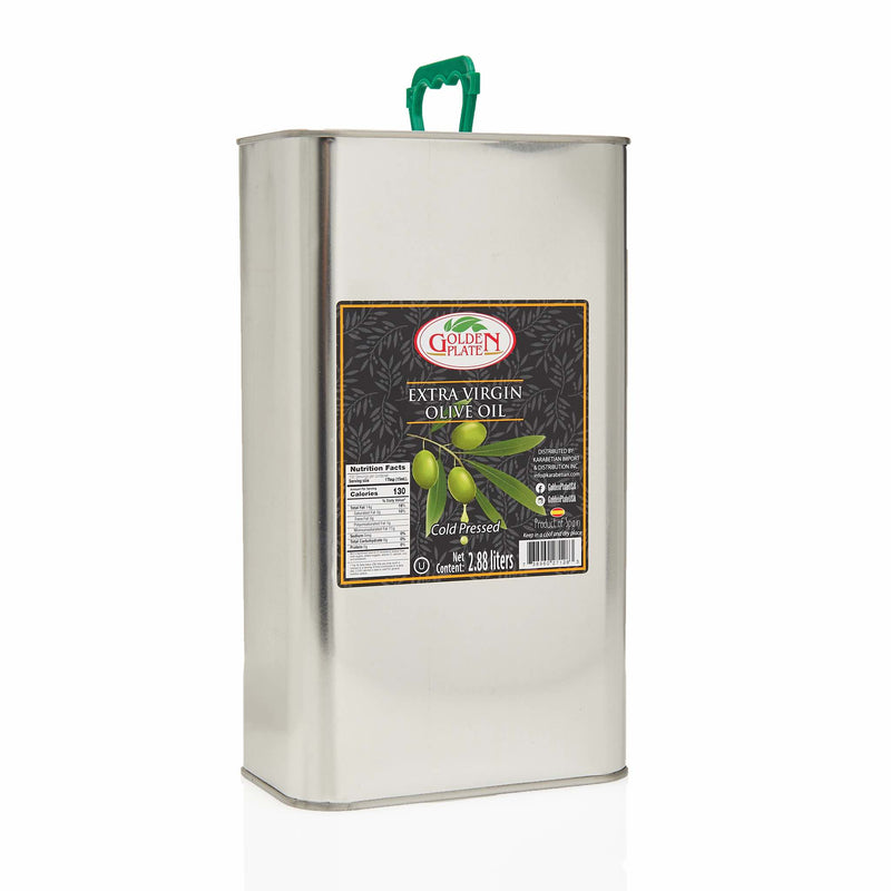 Golden Plate Extra Virgin Olive Oil - 3 Litre