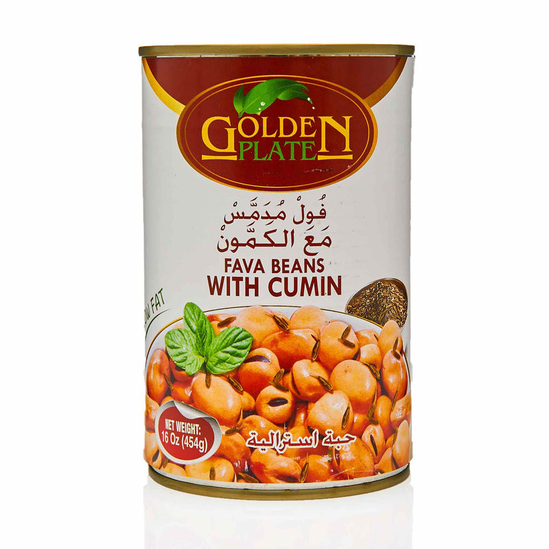 Golden Plate Fava Beans with Cumin - Front