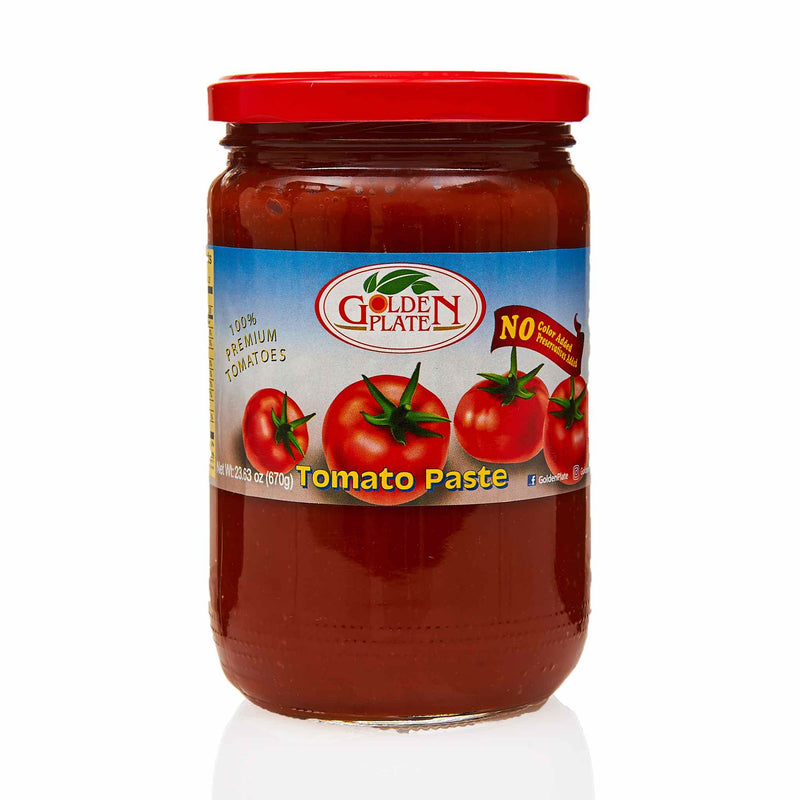 Golden Plate Tomato Paste - Front