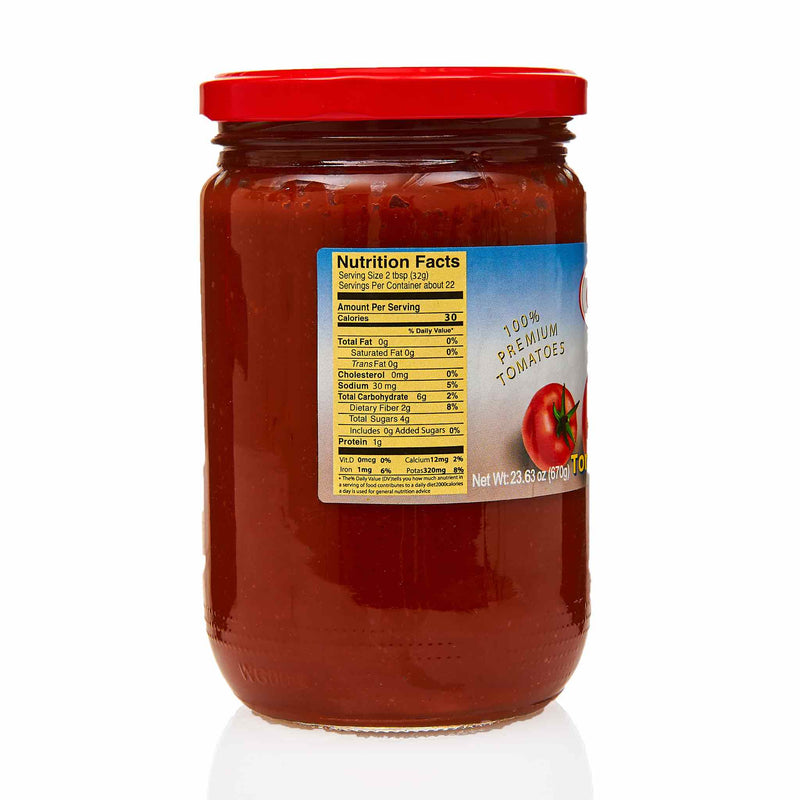 Golden Plate Tomato Paste - Ingredients