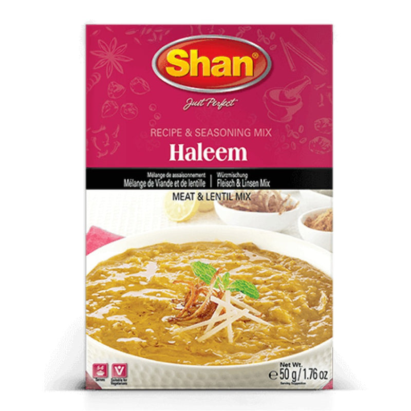 Shan Haleem Recipe Mix - Front