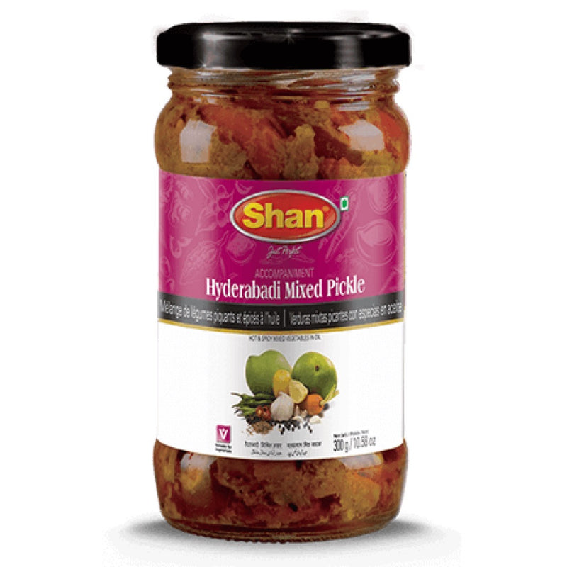 Shan Hyderabadi Mixed Pickle - Front