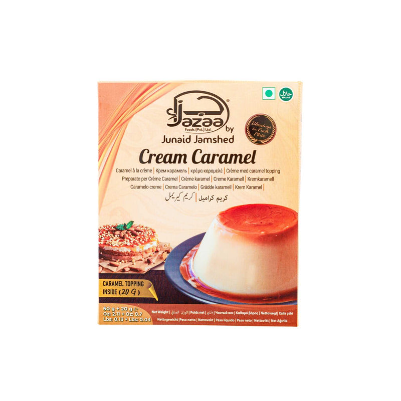 Jazaa Cream Caramel Pudding - Front