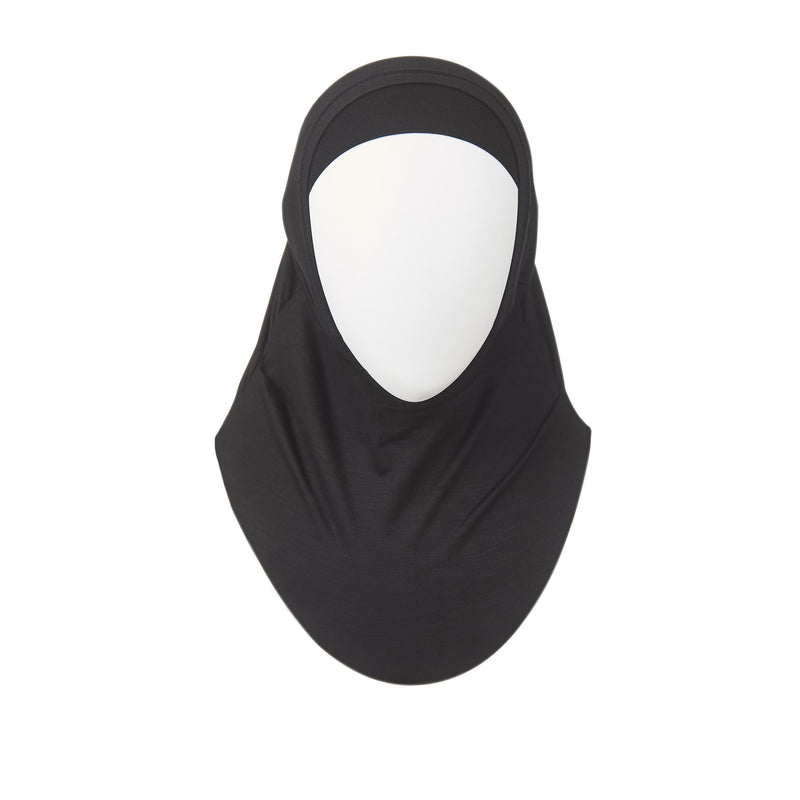 Black Kids Hijab - 2 Piece