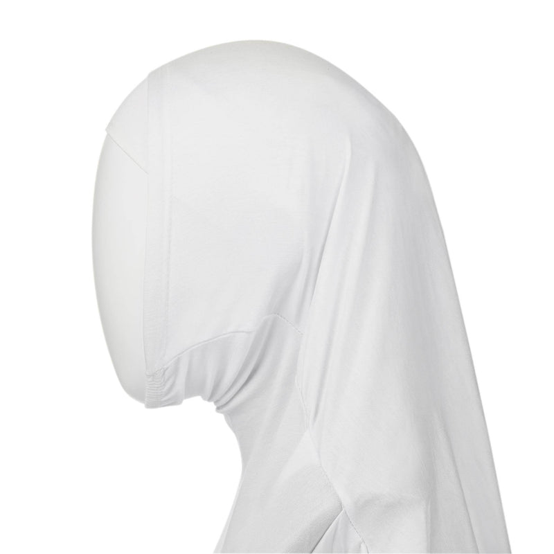 Kids Hijab in White - Front