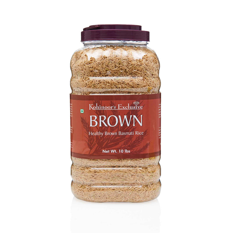 Kohinoor Brown Basmati Rice - Front