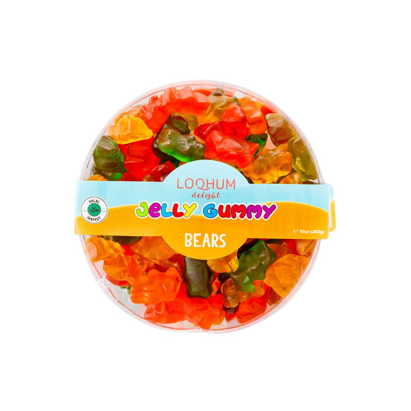 Loqhum Halal Gummies Bears - Box