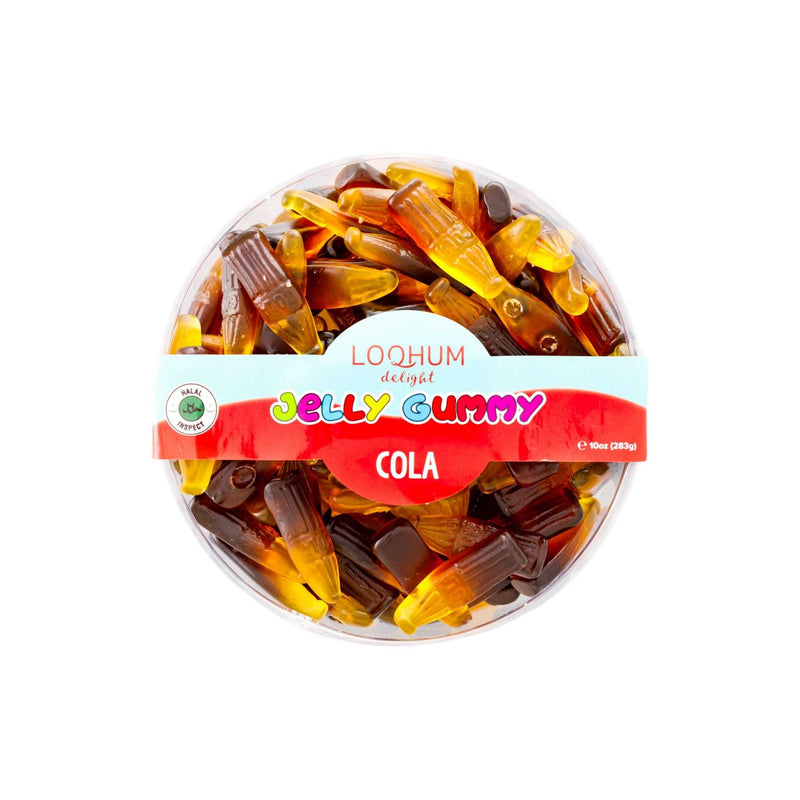 Loqhum Halal Gummies Cola - Box