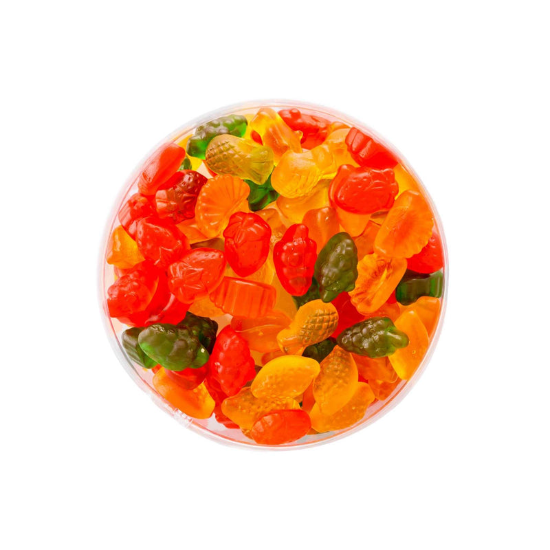 Loqhum Halal Gummies Mix Fruit Open Box