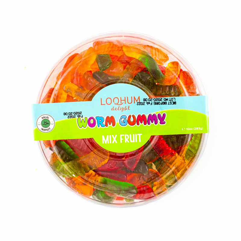 Loqhum Halal Worms Gummies - 3