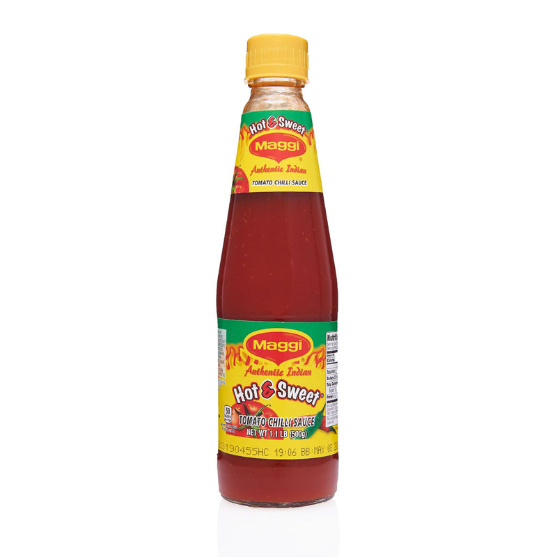 Maggi Tomato Chilli Hot & Sweet Sauce - Front