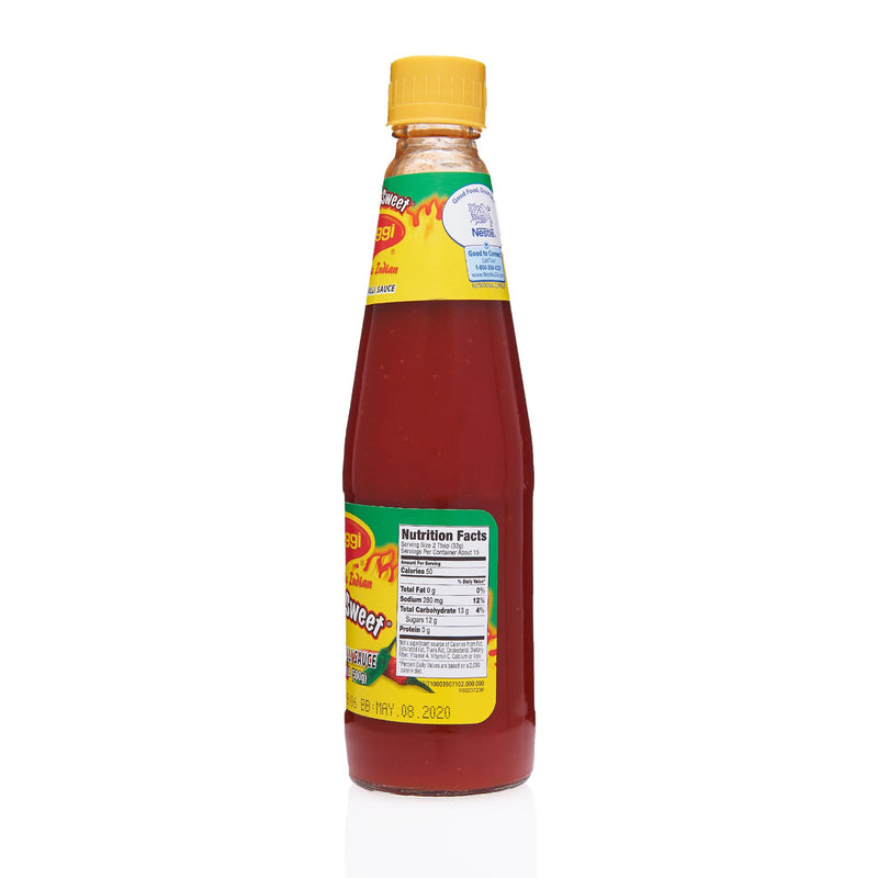 Maggi Tomato Chilli Hot & Sweet Sauce - Nutrition Facts