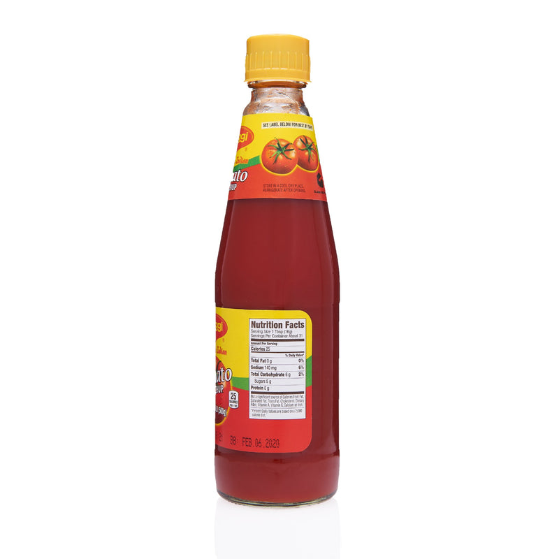 Maggi Tomato Ketchup - Ingredients