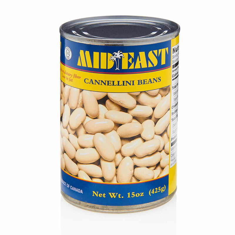 MidEast Cannellini Beans Can - Front