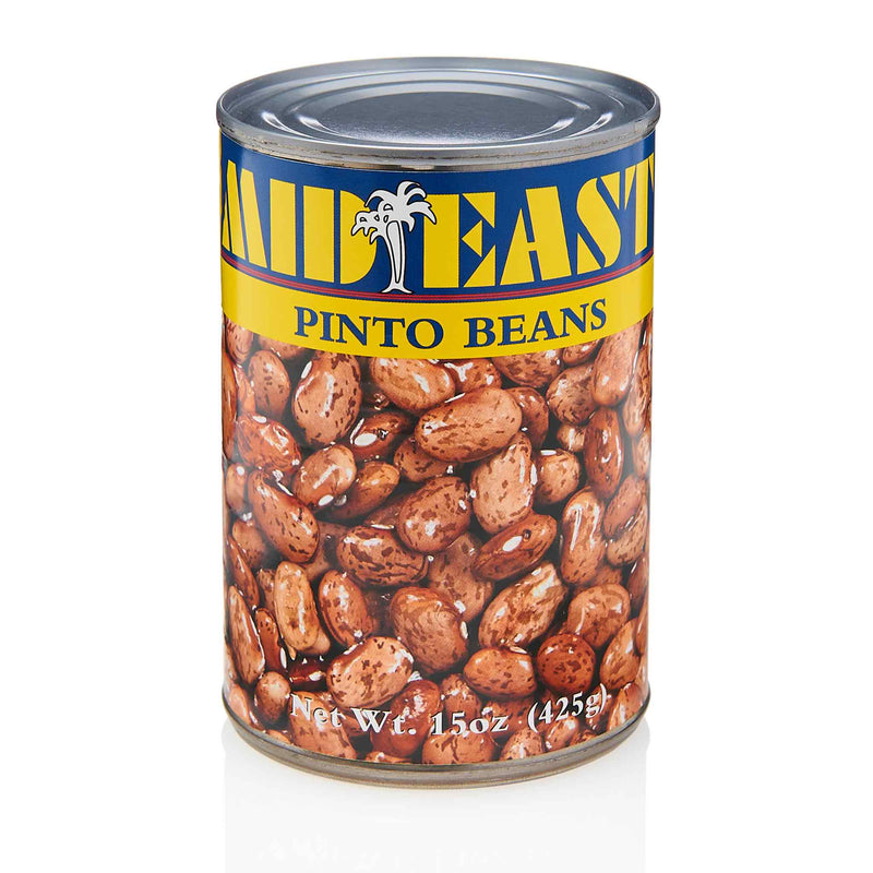MidEast Pinto Beans Can - Front