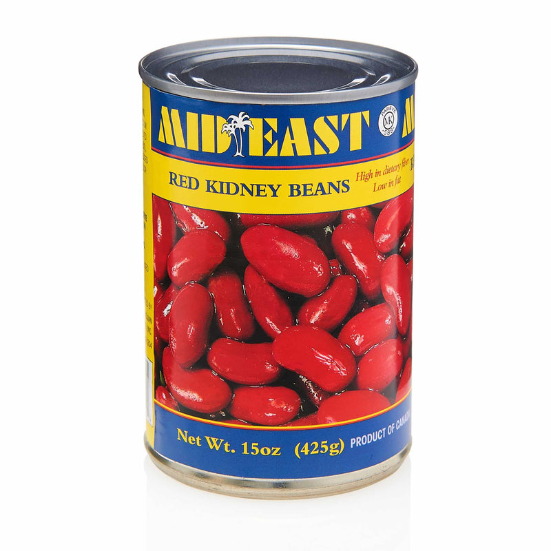 MidEast Red Kidney Beans Can - Front