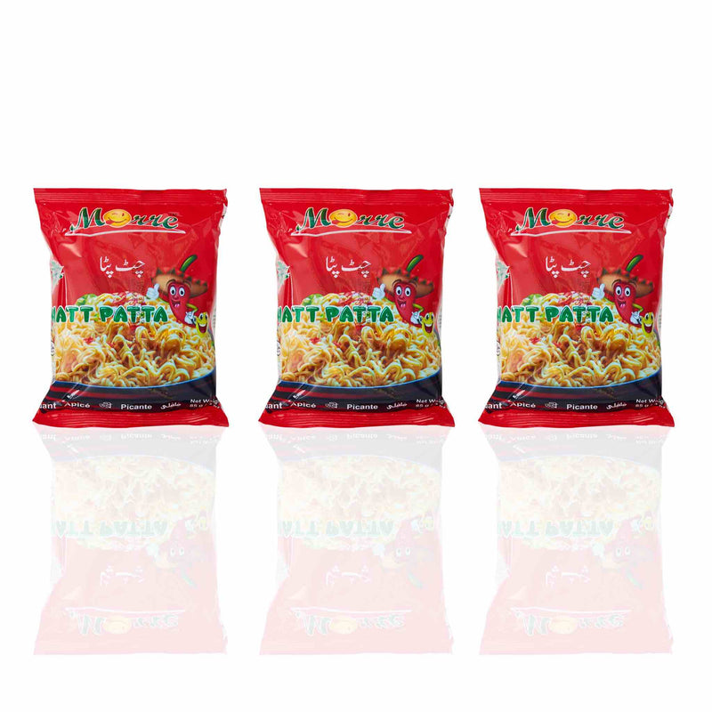 Moore Noodles - Chatpatta (3 pack)